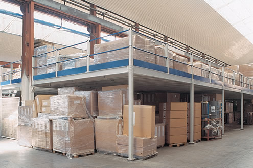soppalchi industriali in ferro soppalco magazzino